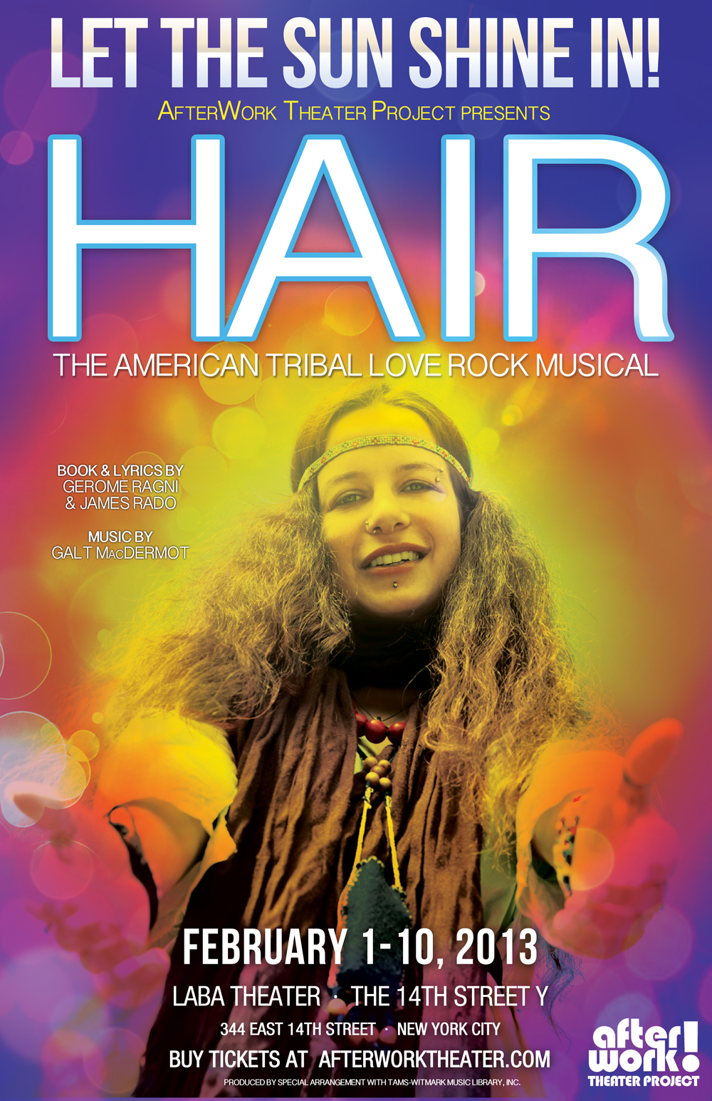 afterwork theater project�s premiere show �hair� at the