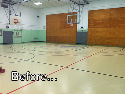 Our Gymnasium: From Drab to Fab